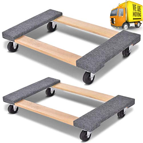 Set of 2 Movers Dolly 18