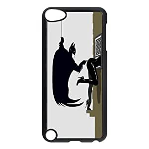 Batman Funny Touching Girl's Ass Ipod Touch 5 Cases, Design Protective Ipod Touch 5 Cases For Girls Yearinspace {Black}