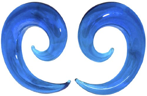 Gauge Ocean Curved Spiral Tapers product image