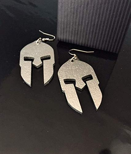 Spartan Helmet Earrings, Proudly Made In The U.S.A. -