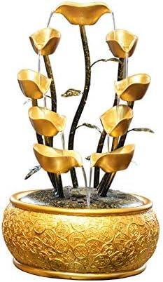 中国の風水蓮の花の逆流香バーナー、大きな手作りセラミック逆流コーンスティック線香ホルダークラフトワーク置物オフィスとホーム