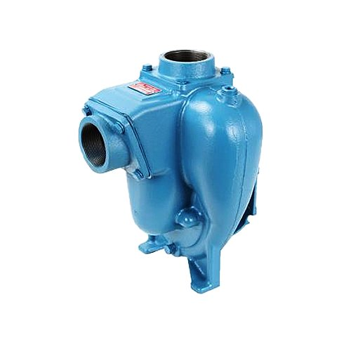 Base Priming (MP Pumps 039-21332 Flomax 8 NPT Self Priming Centrifugal Pump, Pump Pak Cast Iron, 5.0