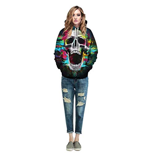 14 Vêtements Top Sportswear Femmes shirts Adeshop Longues Hiver Blouse Sweat Automne Haut À Taille Impression Casual Manches Mode Multicolore Chic Tops Hommes Couple Capuche Grande Pull 4wEfq0