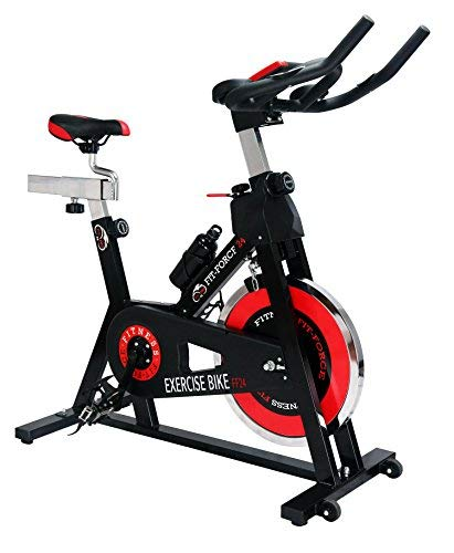 🥇 Fit-Force Bici Spinning Volante de Inercia de 24Kg