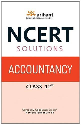 Ncert Accounts Book