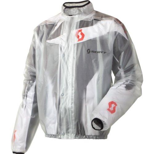 Scott Rain MX Motorrad / Fahrrad Regenjacke klar 2015: Größe: XXL (58)