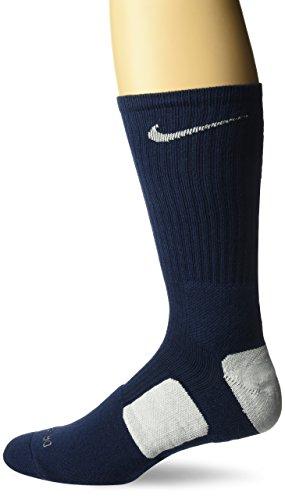 Nike Crew Socks Hyper Elite Basketball Midnight Navy/white/white