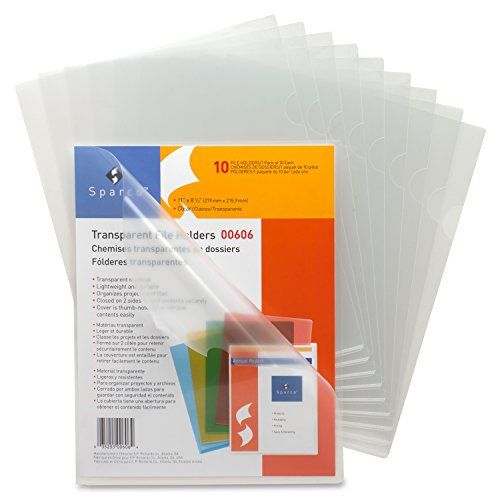 (Business Source File Sleeve, Clear (00606BX))