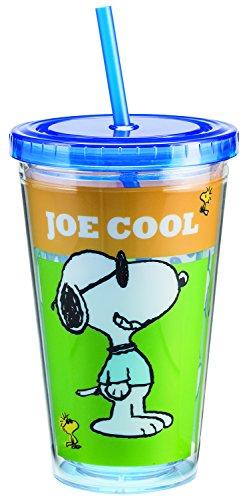 Peanuts 18 Oz. Acrylic Travle Cup 85214 (Snoopy Stuff)