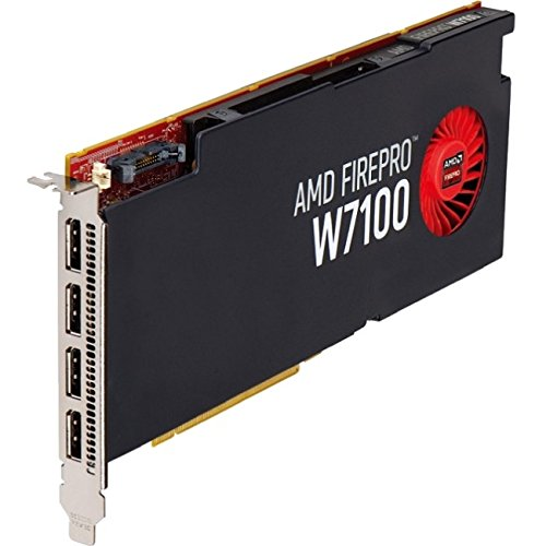 ATI AMD FirePro W7100 8GB GDDR5 4DisplayPorts PCI-Express Video Card 100-505975 by ATI