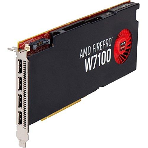 ATI AMD FirePro W7100 8GB GDDR5 4DisplayPorts PCI-Express Video Card 100-505975 by ATI