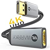 4K DisplayPort to HDMI Adapter UHD, WARRKY