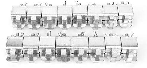 Schweißen Klemme, 16pcs Stumpfschweißen Klemmen für Blech Auto Auto LKW Tür Haut Panel