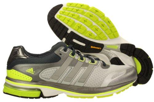 Adidas Hombre Zapatos Snova Glide 5 Funcionamiento Tamaño gris claro / plata metálica / Q33795 elà Light Grey/Metallic Silver/Electric