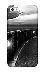 Case Cover The Sea Black And White Storm Nature Other/ Fashionable Case For Iphone 5/5s