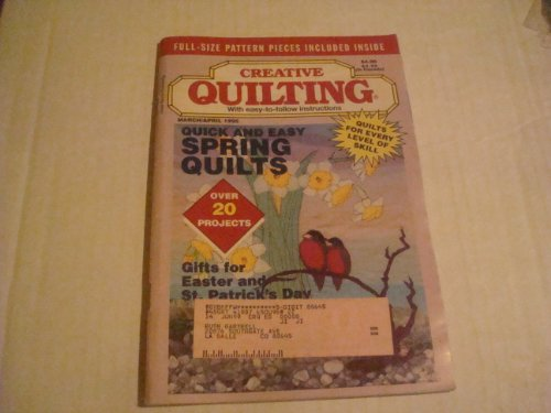 Creative Quilting Magazine March/April 1995 (Volume 10 Issue 2)