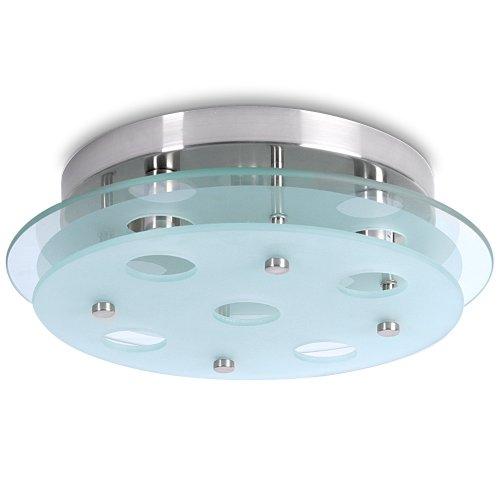 Lampada soffitto classe a   fino e lampada bagno lampadario vetro ...