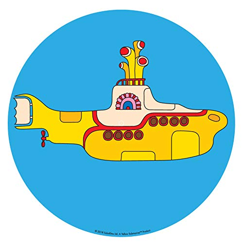 Price comparison product image Crosley AC1016A-YS Turntable Slip Mat,  The Beatles Yellow Submarine