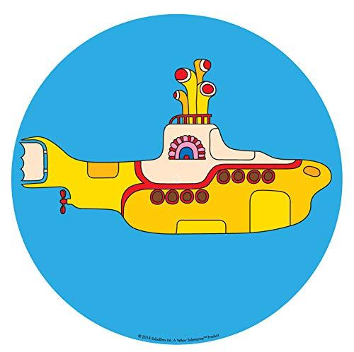 Crosley AC1016A - Alfombrilla para Tocadiscos, Amarillo (Yellow Submarine)