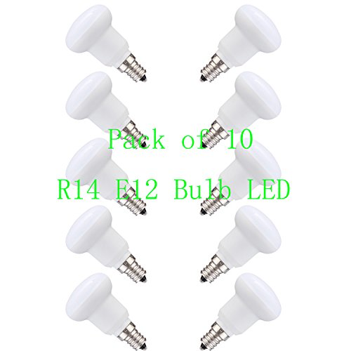 LED 3W(30 Watt Equivalent Incandescent Lamp) Light Bulbs, Soft White 3000K LED Energy Saving Light Bulbs, 120Volt 300lumens 120 Degree,E12 Medium Screw Base LED Lights for Home,Not Dimmable(10 Pack)