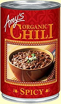 Amy's Spicy Chili 14.7 OZ(Pack of 2)