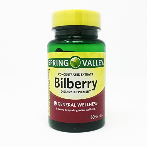 Spring Valley Softgels Bilberry 60 product image