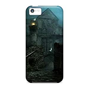 New Arrival Iphone 5c Case Dark Souls New Londo Ruins Case Cover