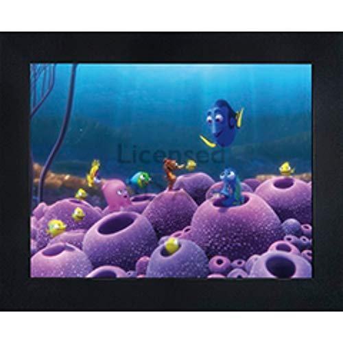 Finding Nemo Wall Murals - Finding Nemo Dory 3D Poster Wall Art Decor Framed | 14.5x18.5