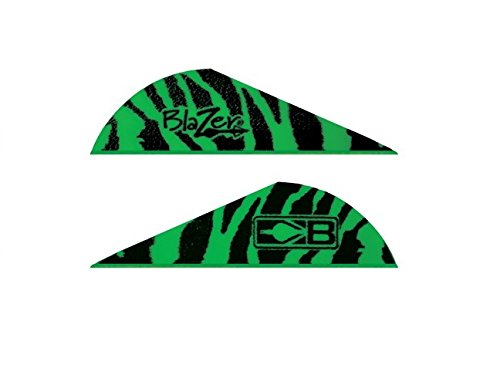 Bohning Blazer Vane (Pack of 36), Green Tiger by Bohning (Image #1)