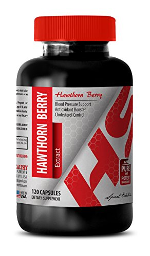 Hawthorne berry extract - HAWTHORN FLOWER AND LEAF EXTRACT 665 MG - improve blood flow (1 Bottle) (Hawthorn Berry Leaf)