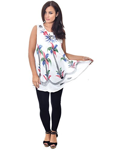 Nightingale Collection - Camiseta sin mangas - para mujer White-1
