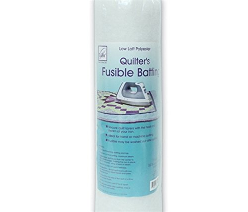 June Tailor Fusible Quilt Batting (Polyester) - Single Size 72' x 90'