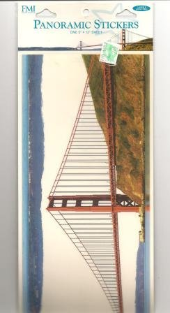 - Frances Meyer Panoramic Stickers - Golden Gate Bridge