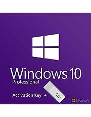 Windows 10 Pro 64 Bit - activation key usb flash drive