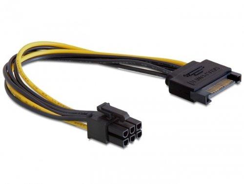 21 opinioni per DeLOCK Power SATA 15-pin- 6-pin PCI-E- cable interface/gender adapters (SATA,