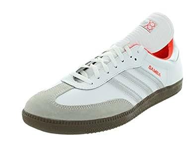 Adidas Men's Samba Originals Runwht/Metsil/Infred Indoor Soccer Shoe 13 Men US