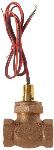 Gems Sensors FS-200 Series Bronze Flow Switch, Inline, Shuttle Type, 0.5 gpm Flow Setting, 1'' NPT Female by Gems Sensors (Image #2)