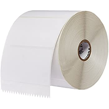 """Zebra Technologies 10010031 Z-Perform 2000D Direct Thermal Label, 4"""" x 2"""", 1"""" Core, 5"""" OD, 1240 per Roll (Pack of 6)"""