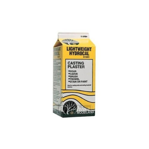 WOODLAND SCENICS C1201 Lightweight Hydrocal 1/2 Gallon WOOU1