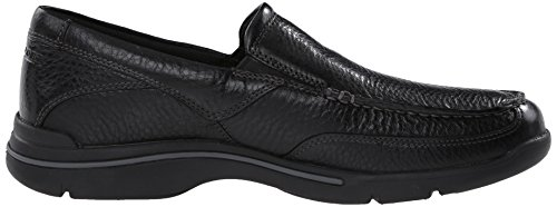 Loafer Eberdon Leather Men's Flint Rockport Black zESTTq