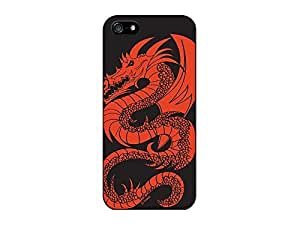 Generic Personalized Red Dragon Snap on Hard Plastic Case Cover For iPhone 6 Plus (5.5 Inch Screen) wangjiang maoyi
