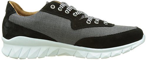 Noir Noir JOE amp;b Frize vlrs Repper amp; Homme Toile N Cr PAUL Baskets Basses E17 pP65nWz