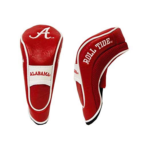 - Team Golf NCAA Alabama Crimson Tide Hybrid Golf Club Headcover, Hook-and-Loop Closure, Velour lined for Extra Club Protection