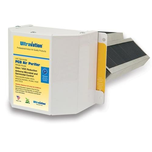 Whole House Ti02 Infused Carbon Photocatalytic Oxidation PCO UVCAT1200 Air Purifer - 10 Year Warranty -