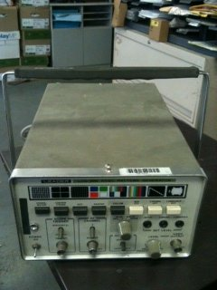Leader NTSC Model LCG-396 Pattern - Generator Pattern Ntsc