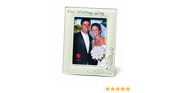 Amazon Com Russ Our Wedding Day Photo Frame 5 By 7 Inch Single Frames