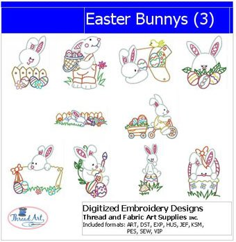 Easter Machine Embroidery Designs - 8