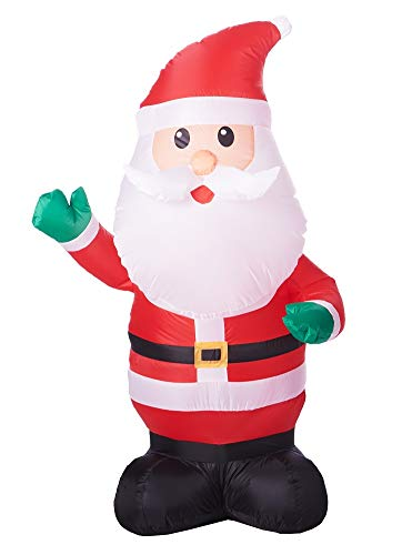 Airblown Inflatable Santa Claus 4ft Everything Included Generic