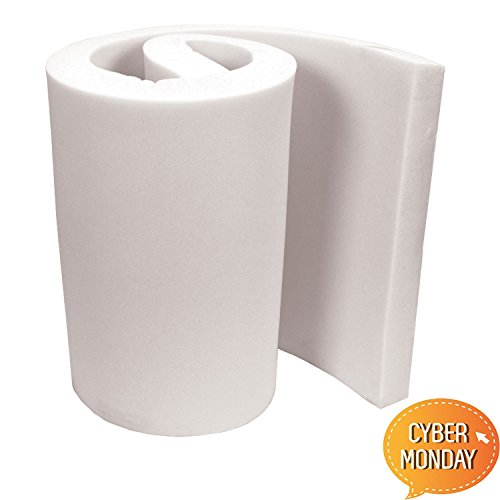 (Mybecca High Density Firm Seat Replacement , Upholstery Sheet Foam Padding,6