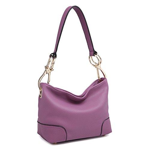 Purple Hobo Handbag - 1
